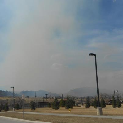 Galena Forest Fire Fort Collins